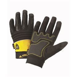 West Chester Safety Gloves Pro Series Brute Finger Protection Work Glove Medium $9.99