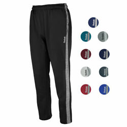 New With Tags Men#x27;s Reebok Athletic Gym Muscle Pants Joggers Tech Sweatpants $18.71