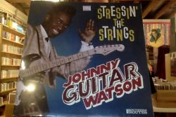 Johnny Guitar Watson Stressin' the Strings LP sealed vinyl