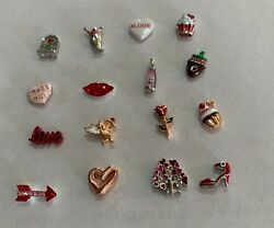ORIGAMI OWL NEW AND RETIRED VALENTINES CHARMS