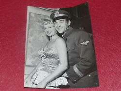 FUNDS GERMAINE ROGER VINTAGE PHOTO CHEVALIER LUIS MARIANO SKY C. CEREDA 1955