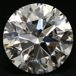 10.34 ct E Color IF Clarity Round Natural Loose Diamond EX Cut GIA FL Strong