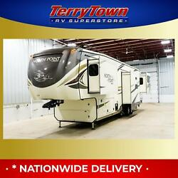 New 2019 Jayco North Point 387RDFS Rear Luxury 5th Wheel RV