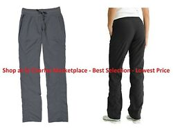 Kirkland Signature Ladies' Woven Pant Black or Gray Short and Tall Sizes NWT $11.95