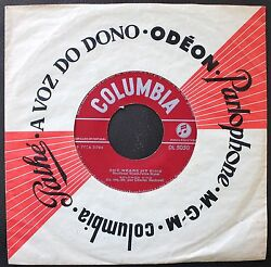 SOLOMON KING SINGLE MADE IN PORTUGAL 45 COLUMBIA 7 * SHE WEARS MY RING * DL5050