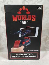 Worlds AR Augmented Reality Gaming Red Blaster Edition 2017 New unopened box $12.99