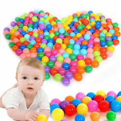 100pcs 5.578cm Fun Soft Plastic Ocean Ball Swim Pit Toys Baby Kids Colorful