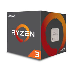 AMD Ryzen 3 1200 4-Core 3.1GHz (3.4GHz Turbo) Desktop Processor YD1200BBAEBOX
