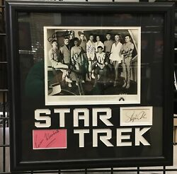 Star Trek: The Motion Picture Photo with 10 Signatures
