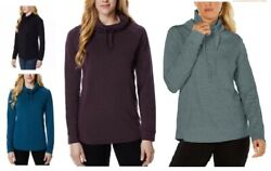 NEW 32 Degree Heat™ Women#x27;s Long Sleeve Cowl Neck Top Pick Color and Size $12.95