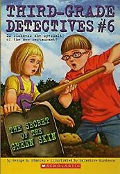 Secret of the Green Skin #6 Third Grade Detectives by Stanley George