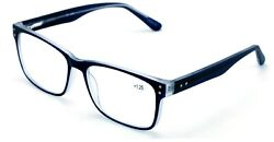 Large Men Premium Rectangular Reading Glasses Optical Frame Reader Spring Hinge $15.95