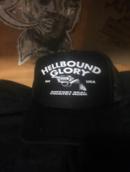 Hellbound Glory Hat country kbd outlaw ftw nelson waylon cash tubbs coe haggard $14.00