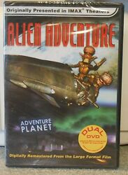 IMAX - Alien Adventure (DVD 2001 3-D  2-D Verions) RARE SCI FI ANIMATION NEW