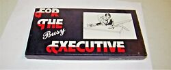 Vintage 1982 Adult Party Gag Joke Novelty FOR THE BUSY EXECUTIVE Hold Button $9.95