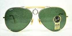 Ray-Ban B&L USA Vintage NOS Aviator Sharp Shooter Deluxe III 65mm New Sunglasses