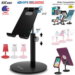 Universal Aluminum Desktop Desk Stand iPad Tablet iPhone Samsung LG Mount Holder $8.92