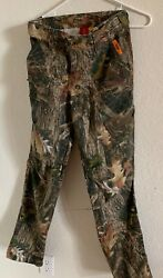 SHE Outdoor Camo Hunting Women's Ladies Small Realtree Fleece Insulated Pants