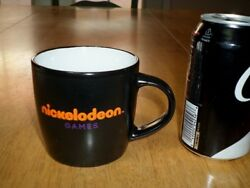 NICKELODEON GAMES Ceramic Coffee Cup Mug VINTAGE $16.00