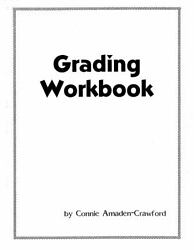 Grading Workbook with Ruler