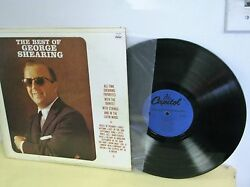 THE BEST OF GEORGE SHEARING CAPITOL RECORDS SM2104 MASTERED 1975 VG