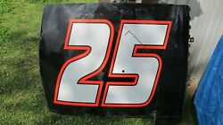 Brandon Jones Roof 25 Car Race Used Menards Rookie ARCA Man Cave She Shed Nascar