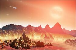 Poster Many Sizes; Artist#x27;S Conception Shows Young Planet Around A Cool Star $160.11