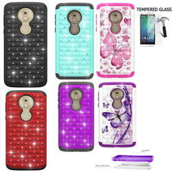 For Moto G7 Play Case G7 Optimo Case XT1952DL shock absorbing Crystal Cover $9.98