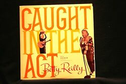 BETTY REILLY:Caught In the Act:Novelty Female Rare MONO Nr Mt Vinyl LP $10.99