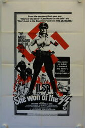 Ilsa She-Wolf of the SS original release US Onesheet movie poster