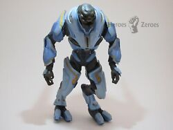 McFarlane Toys Halo Reach Invasion Covenant Blue ELITE GENERAL Figure Incomplete