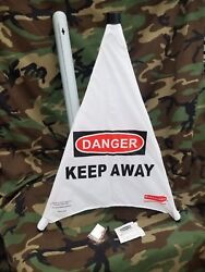 Rubbermaid Commercial Safety Cone danger keep away