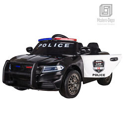 Police Pursuit 12V Electric Ride On Car Toys for Kids with 2.4G Remote Control $119.99