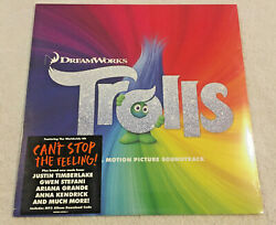 TROLLS (Dreamworks): NEW VINYL LP: (Original Motion Picture Soundtrack):VARIOUS