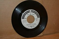 THE SANDPIPERS: ALL OVER BUT THE CRYING; TRU-GLO-TOWN 502 VG++ W.L. PROMO 45 RPM