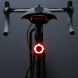 Zacro Multi Lighting Modes Bicycle Light USB Charge Led Bike Light Flash Tail Re $10.65