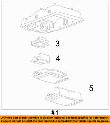 FORD OEM 09-10 Expedition-Overhead Roof Console 9L1Z78519A70DA