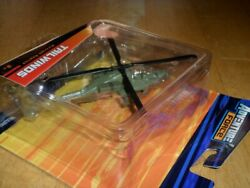 AH 64 APACHE HELICOPTER TAILWINDS DIE CAST METAL TOY $20.00