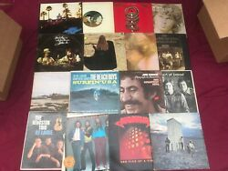 7 Classic Rock VG Record LOT 70s Albums Mixed Vinyl Artist Bands Music  1950-80s