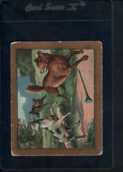 1910 T57 Turkish Trophies Fable Series (1-50) Kid & Wolf G-VG 27236