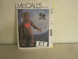 McCalls E.T. The Extra Terrestrial Uncut Sewing Pattern 8311 childs Costume Med.