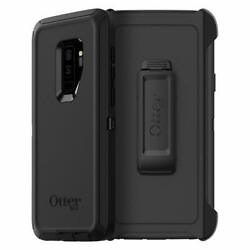 OtterBox DEFENDER SERIES Case amp; Holster for Galaxy S9 Plus Black $12.95