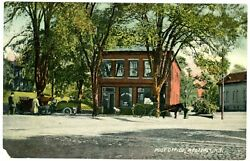 Westerly RI OLD POST OFFICE BUILDING Postcard Rhode Island $12.75