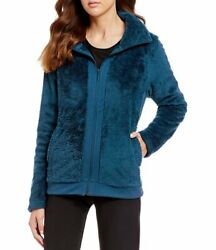 New Women#x27;s The North Face Furry Fleece Coat Top Pullover Jacket $54.99