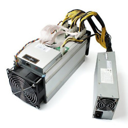 Bitmain Antminer S9 Bitcoin Miner 13.5THs with AWP3++ USA SELLER NO TARIFFS