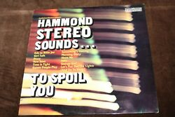 Roger Coulam - Hammond Stereo Sounds To Spoil You - Old Vinyl LP - 6870524 1970