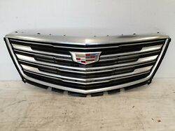 2017 18 19 CADILLAC XT5 UPPER GRILLE USED OEM COMPLETE *BH1248