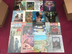 7 Classic Rock Folk Country VG++ Record LOT 60-80s Albums Mixed Vinyl Glam Soft $35.99