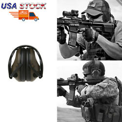 USA Military Soundproof Earmuffs Electronic Ear Muffs Shooting Hearing Protect