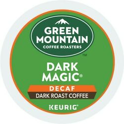 Green Mountain Coffee Dark Magic Decaf Keurig K Cup Pod Dark Roast 96 Count $39.99